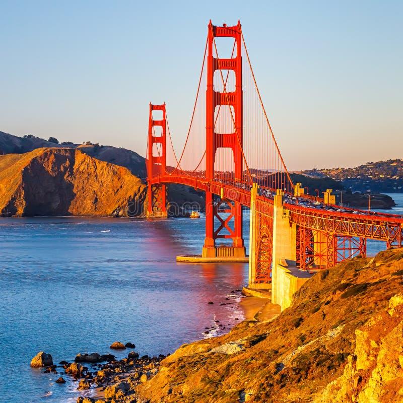 Мост золотого строба стоковая фотография