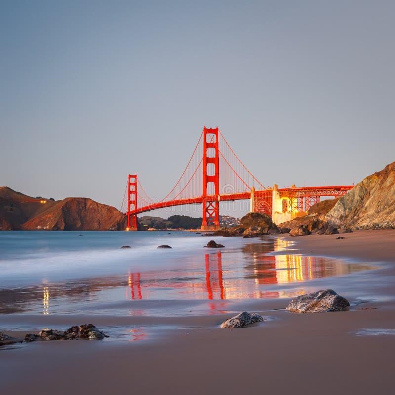Мост золотого строба стоковое фото