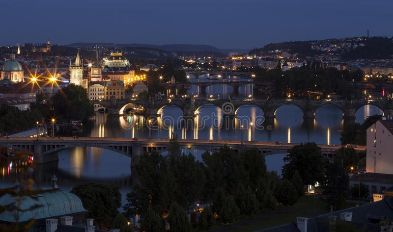 Мост Карла в Праге стоковое фото rf