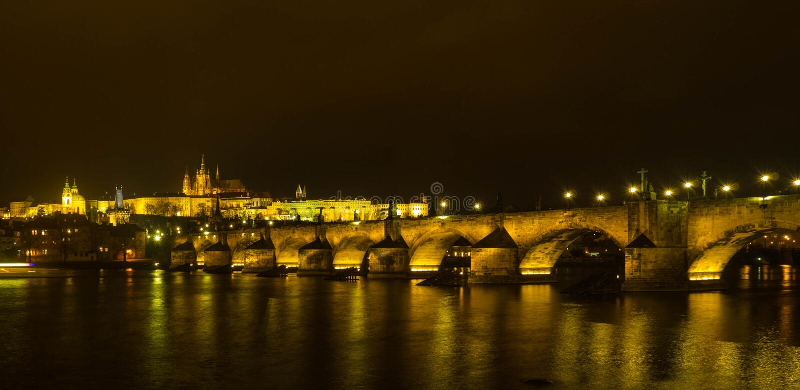 Мост Карла стоковое фото rf