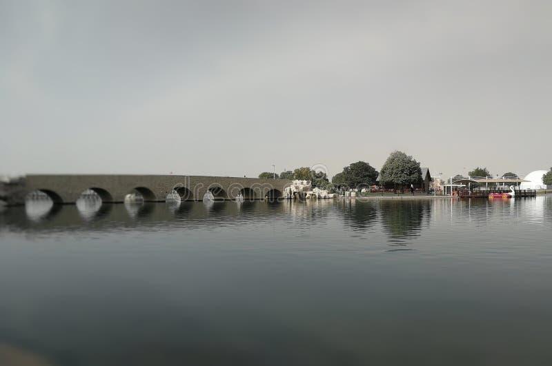 Мост ландшафтной архитектуры стоковые фото