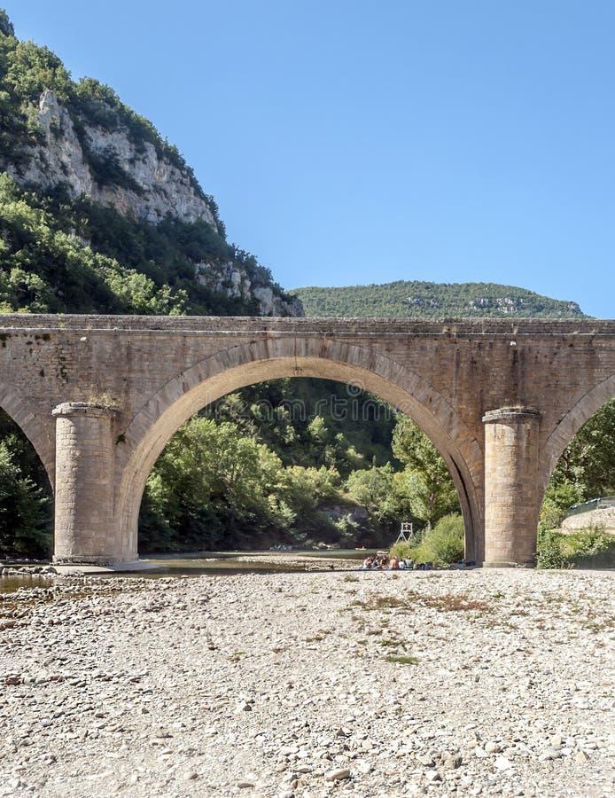 Мост Ла Madele стоковое изображение