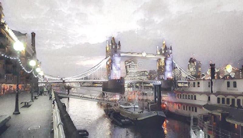 Мост Лондон башни стоковые изображения