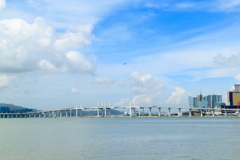 Мост Макао стоковая фотография rf