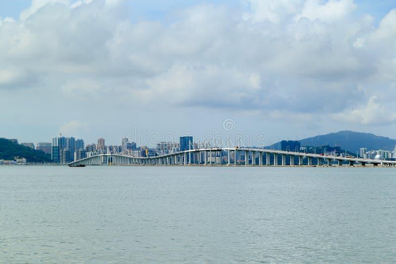 Мост Макао стоковое фото