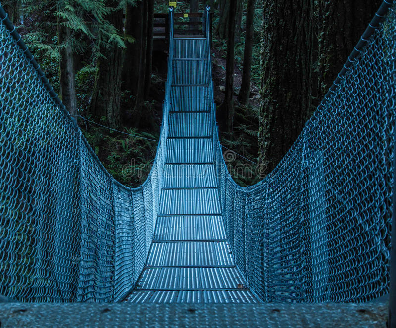Мост металла стоковое изображение
