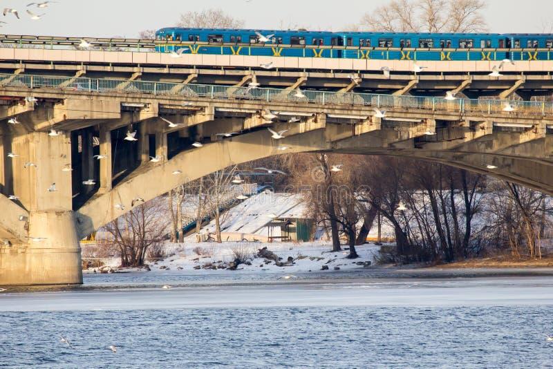 Мост метро стоковое изображение rf
