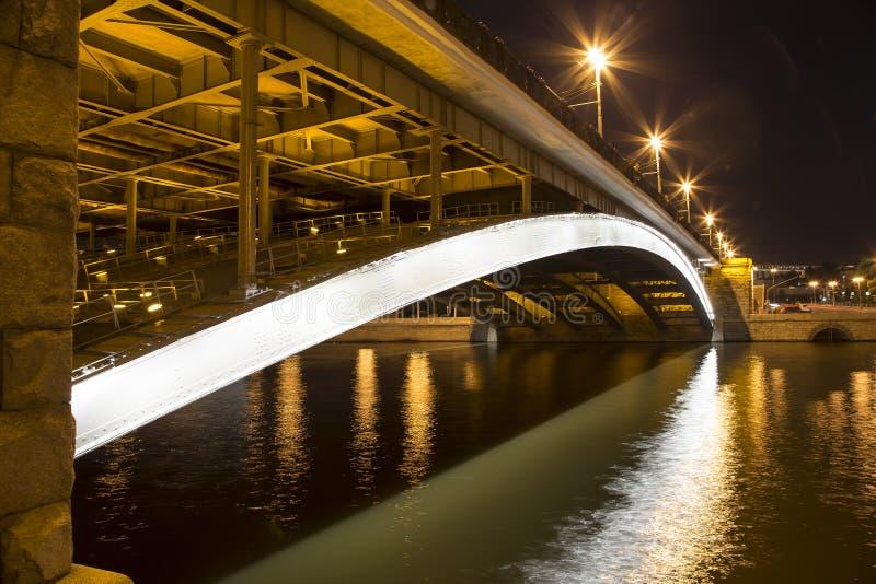 Мост моста Bolshoy Kamenny большой каменный, Москва, Россия стоковые фото