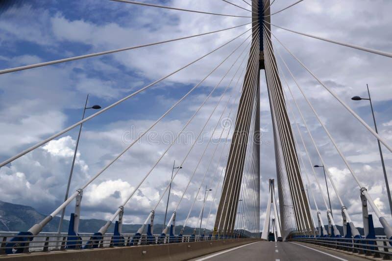 мост над морем стоковое изображение rf