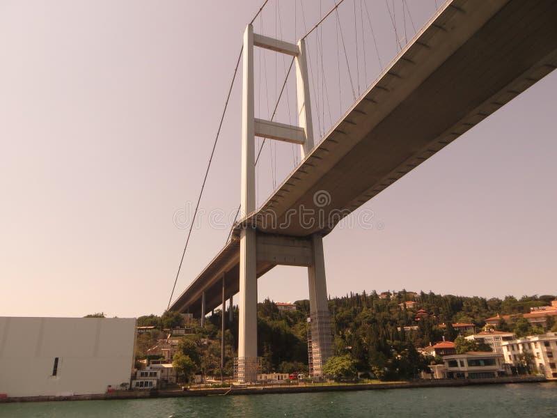 Мост на Bosphorus стоковое изображение rf