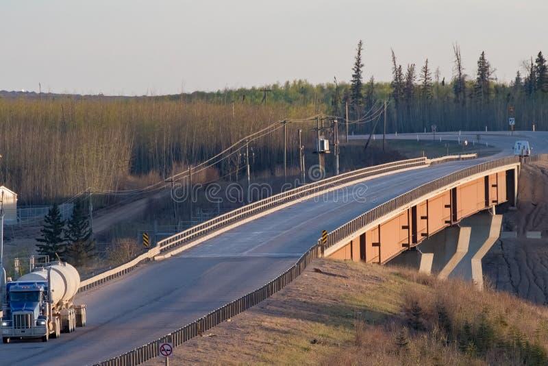 Мост нигде стоковое изображение