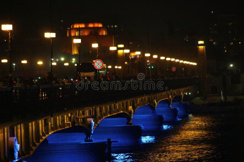 Мост Нила стоковое изображение rf