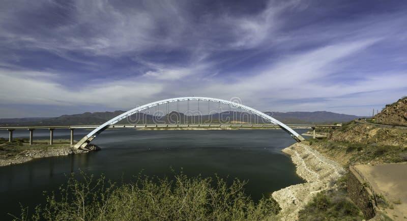 Мост озера Теодор стоковая фотография