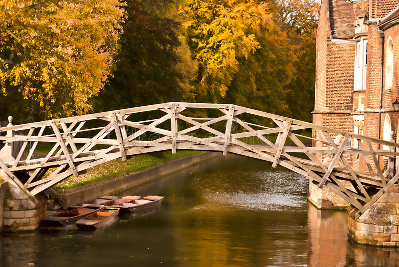 мост осени математически стоковые изображения