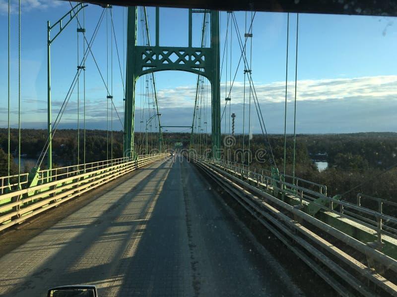 мост 1000 острова стоковые изображения