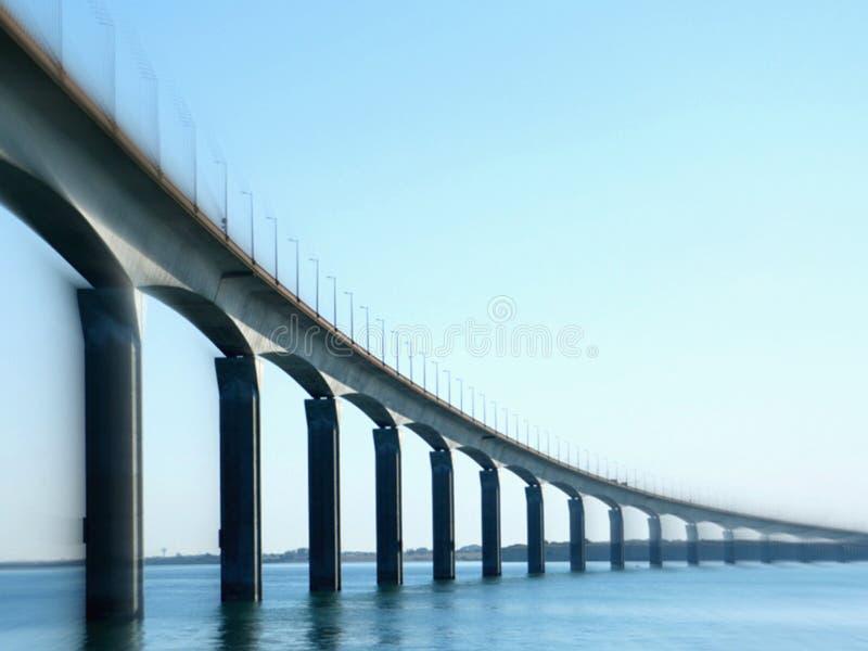 Мост острова Re стоковые фотографии rf