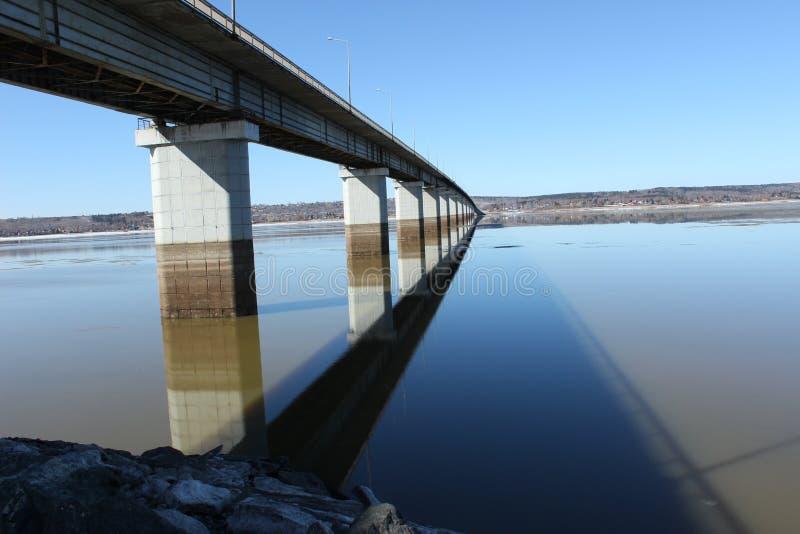 Мост от перми к nord стоковое изображение rf