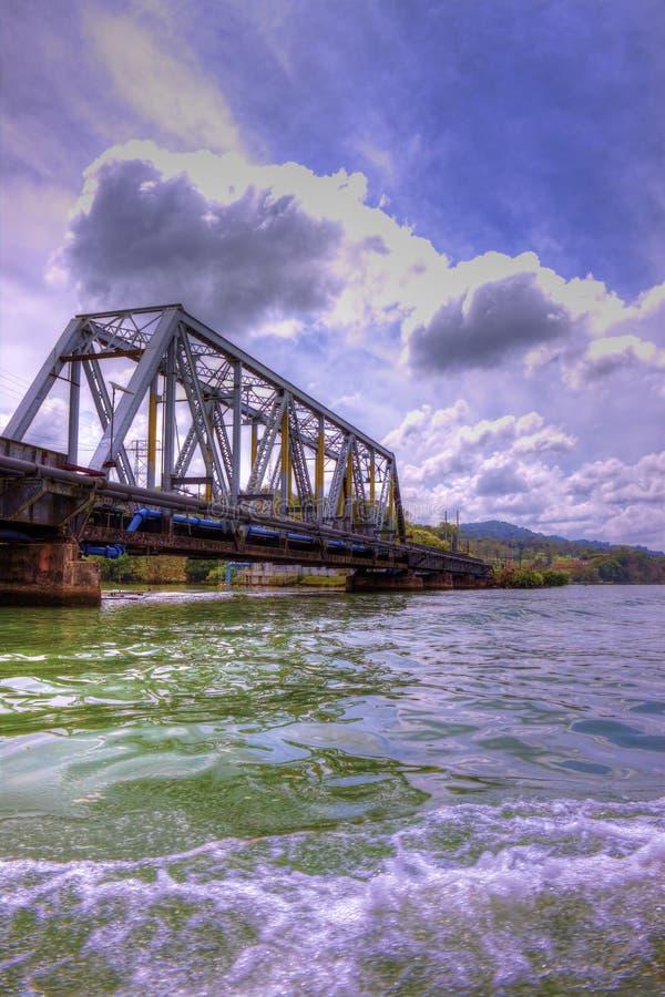 Мост Панамы стоковое изображение