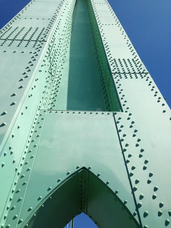 Мост Портленд Орегон St. Johns стоковые изображения rf