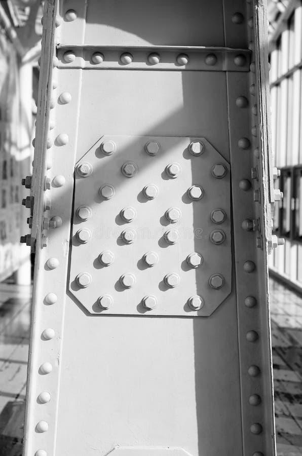 Мост поляков металла пешеходный стоковые изображения