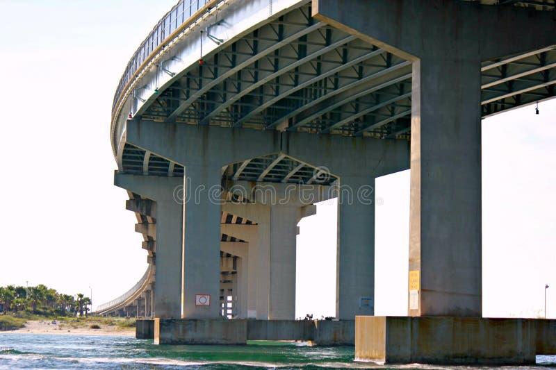 Мост пропуска Perdido стоковые фотографии rf