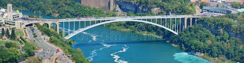 Мост радуги стоковое изображение rf