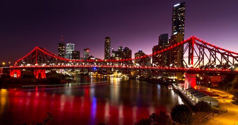 Мост рассказа - Брисбен стоковая фотография