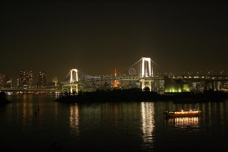 Мост радуги стоковое фото