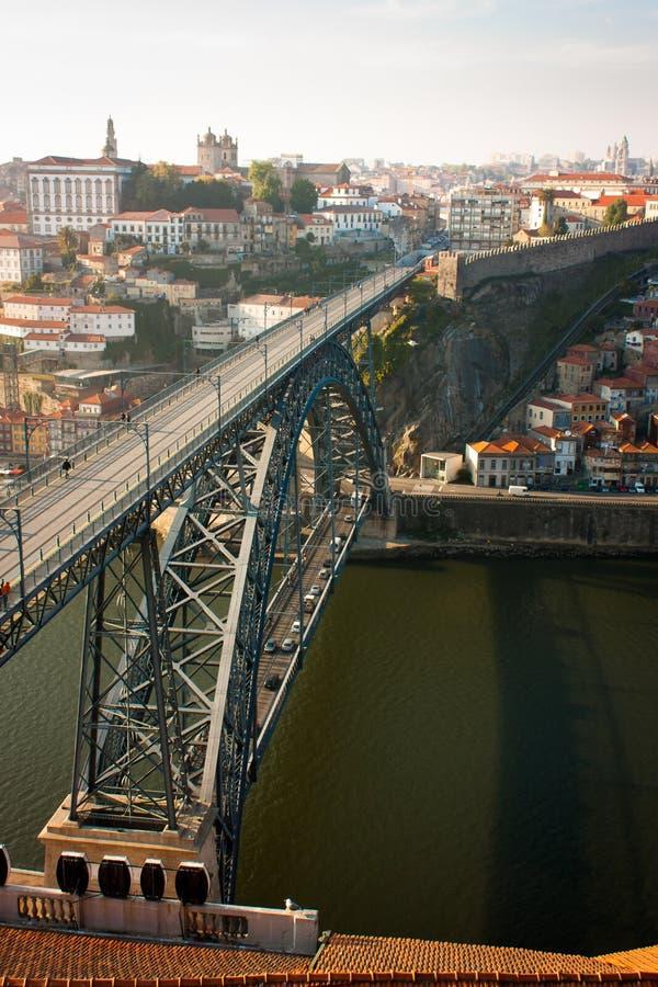 Мост реки Duero стоковое изображение