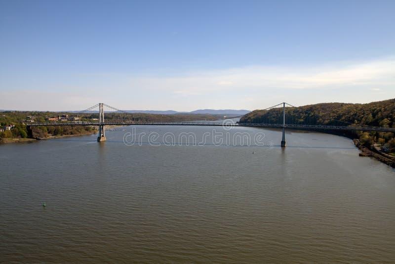 Мост Средний-Гудзона стоковое изображение rf