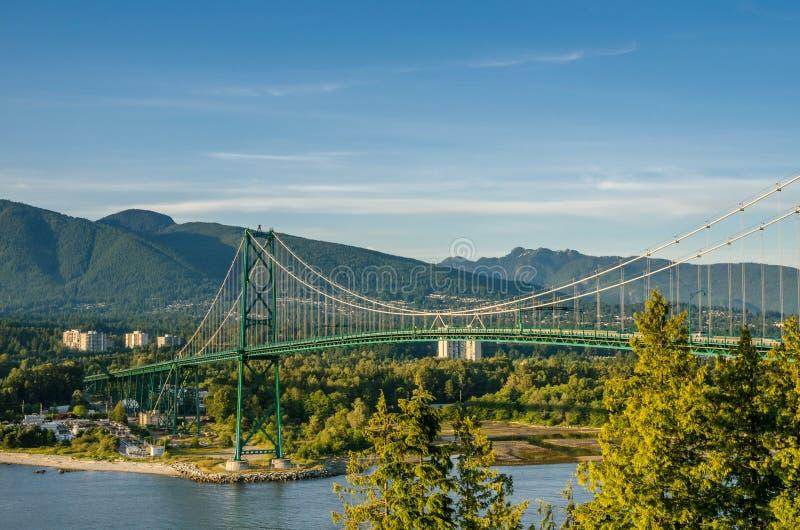 Мост строба львов стоковая фотография rf