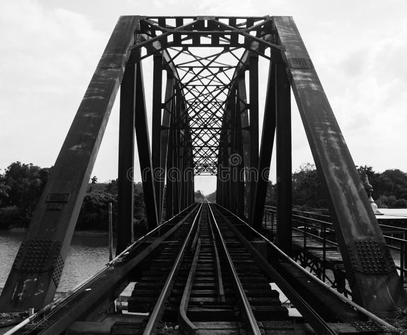 Мост структуры железный стоковая фотография rf