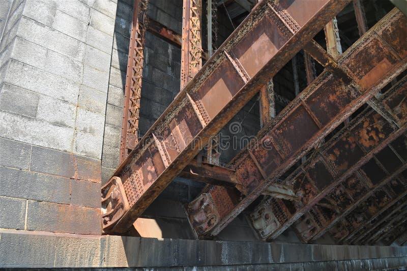 Мост утюга стоковая фотография
