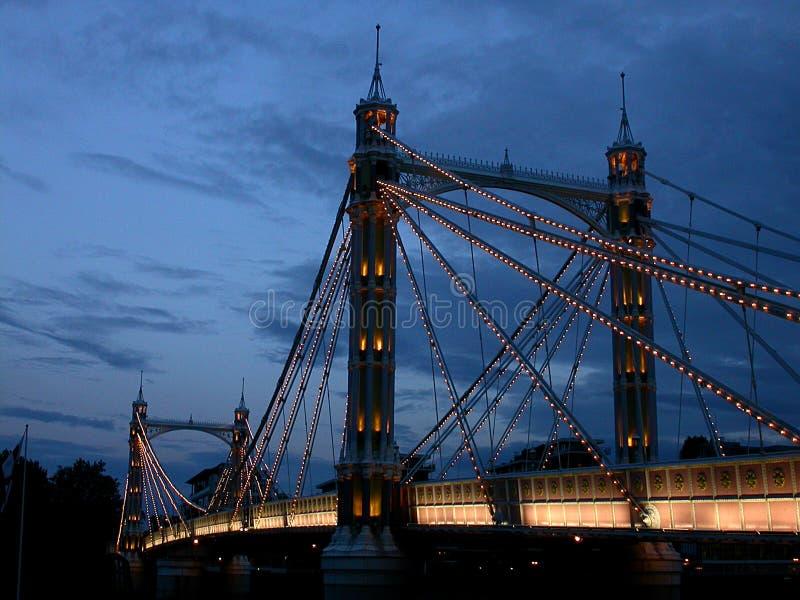 Мост Челси, Лондон стоковое фото rf