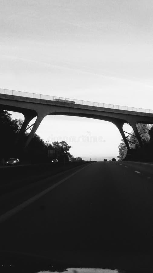 Мост шоссе стоковые фото