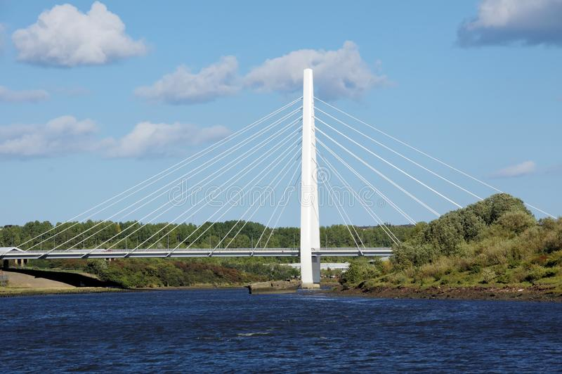 Мост шпиля ` s Sunderland северный стоковые фото