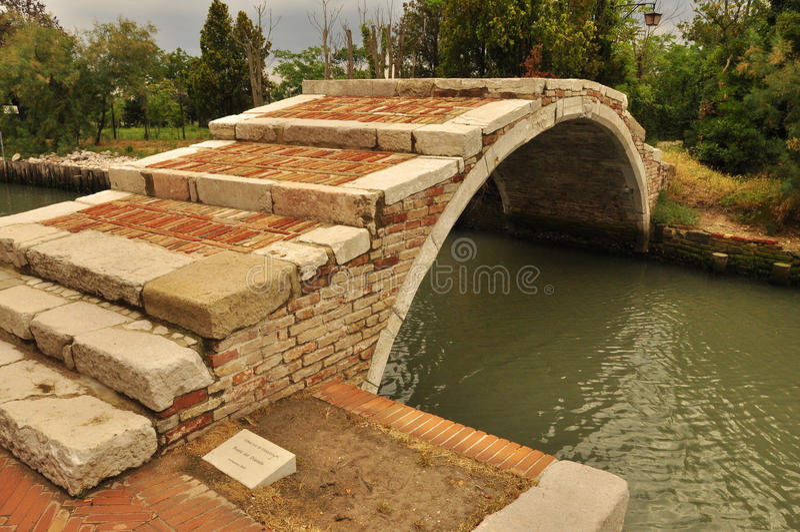 Мост дьявола стоковое фото rf