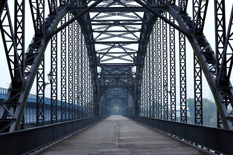 Мост Эльбы стоковое фото