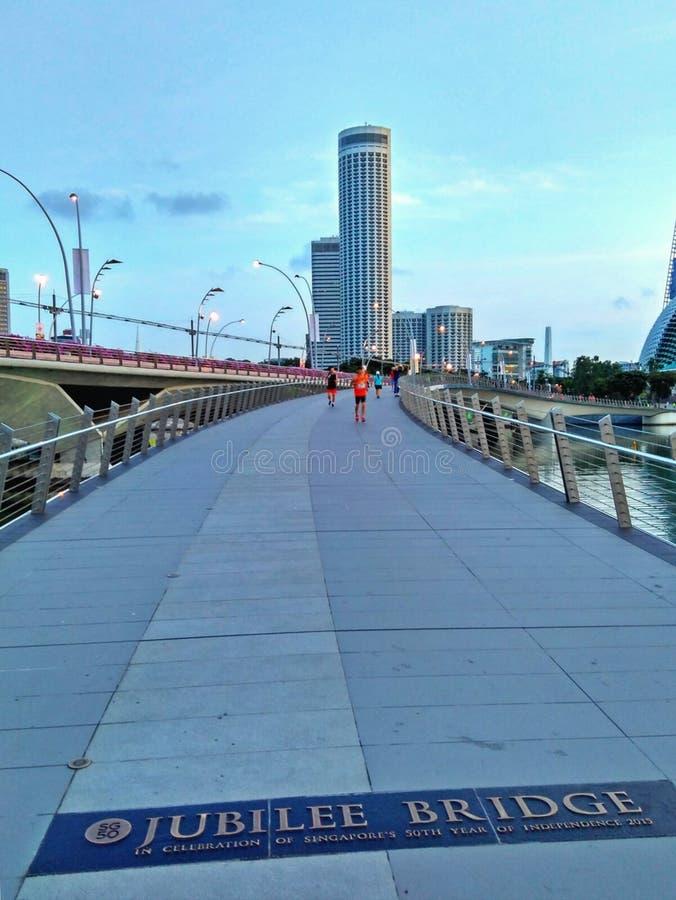 Мост юбилея стоковая фотография