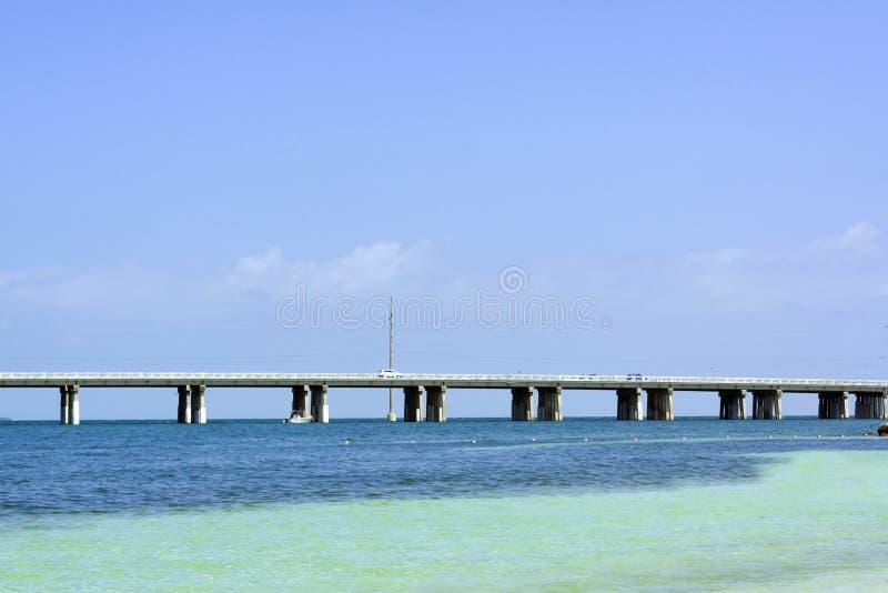 Мост 7 миль стоковая фотография