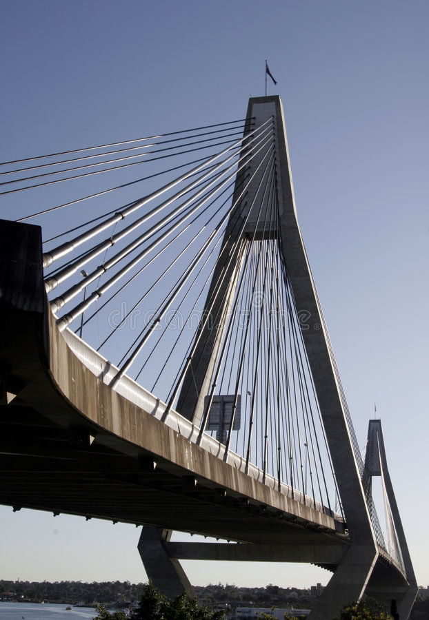 мост anzac стоковое изображение