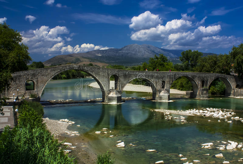 Мост Arta стоковые изображения
