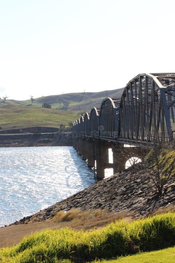Мост Bethanga стоковые изображения rf