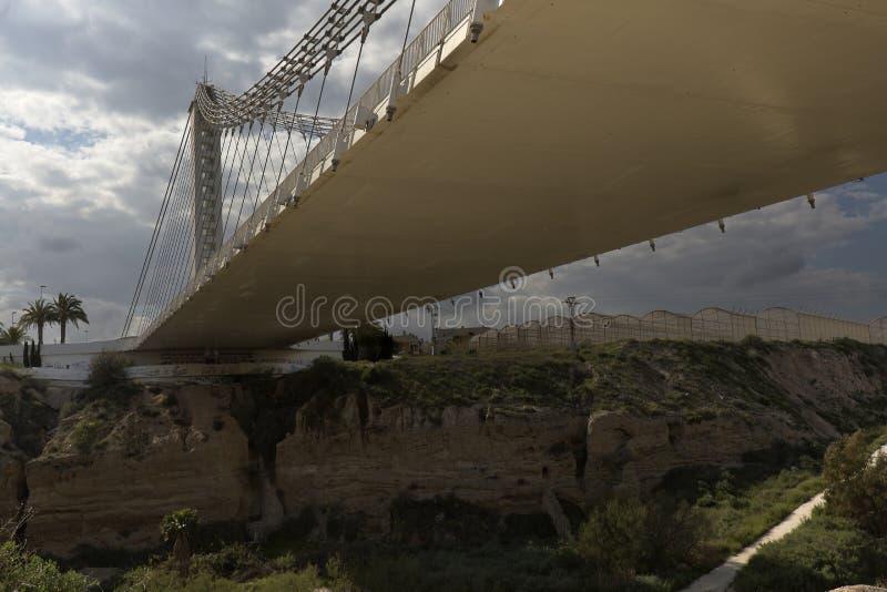 Мост Bimillennial в Elche, Испании стоковая фотография rf
