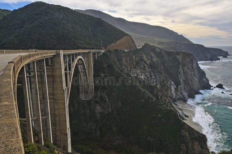 Мост Bixby стоковые изображения rf