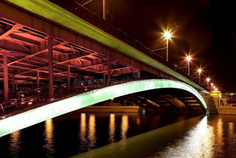 Мост Bolshoy Kamenny (большой каменный мост), Москва, Россия стоковые изображения rf