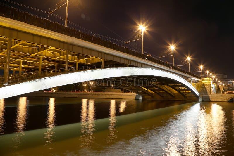 Мост Bolshoy Kamenny (большой каменный мост), Москва, Россия стоковое изображение rf
