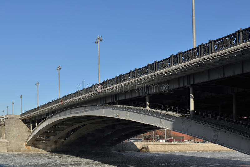 Мост Bolshoy Kamenny стоковые фото