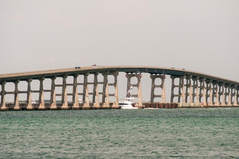 Мост Bonner, вход Орегона стоковое фото rf