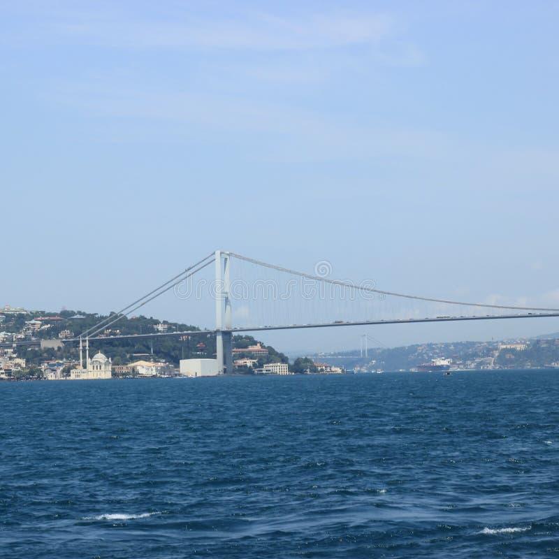 Мост Bosphorus стоковое фото
